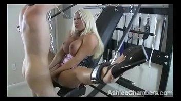 Ashlee Chambers  Fucks slave