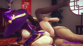 Hentai Compilation Fucks [boku no hero, genshin impact, zelda...] - Japanese manga anime porn