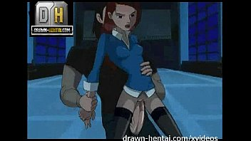 Ben 10 Porn - Gwen saves Kevin with a blowjob