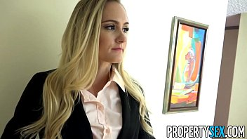 PropertySex - Uncertain real estate agent fucked with confidence by big cock