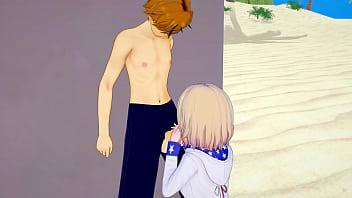 Rent a girlfriend kazuya loses his virginity to...