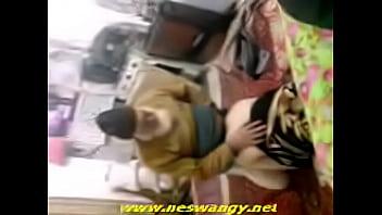 Salwa arab girl gives a blowjob