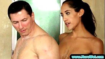 Amazing Sensual Sex With Nuru Gel From Nuru Massage 19