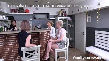 Family Deflowers Virgin Son In A Bar