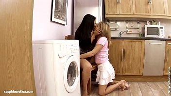 Shrima Malati and Lovita Fate in Full conversion lesbian scene by SapphiX