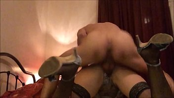 T&amp_A 515 - Satin Lingerie, Heels and Stockings
