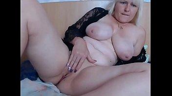Incredible Sexy Blonde Babe BBW big boobs