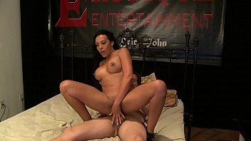 Hot MILF Rio Lee rides big cock