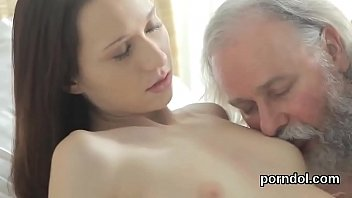 Sensual schoolgirl was tempted and banged by her elderly lecturer