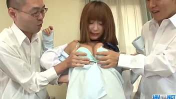Sana Anzyu Sexy Schoolgirl Fucked By Two Teachers