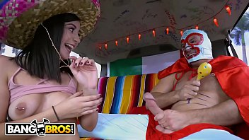 BANGBROS - Join Natalie Brooks and Sean Lawless For Some Cinco De Mayo Fun!