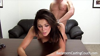 Jojo creampied on backroom casting couch