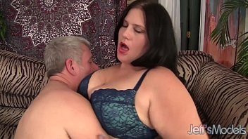 Beautiful BBW B ecky Butterfly loves riding fa loves riding fat dicks