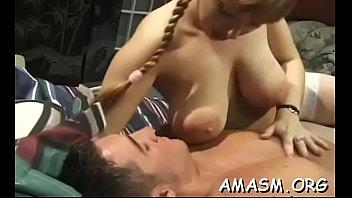 Voluptuous woman sex...