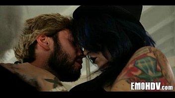 Emo slut with tattoos 0778