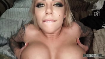 """""""I Just Wanna Make You Feel Good"""" - Big Boobed Step Daughter Karma Rx Takes Care Of Dad's Cock"""