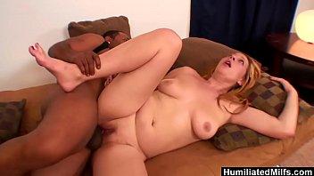 HumiliatedMilfs - Big black cock makes orgasmic blonde wildly cum