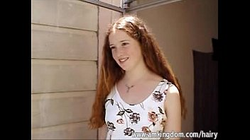 Hairy redhead Rachel