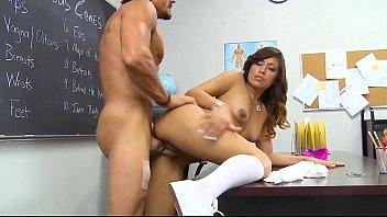Sweet latina banged hard