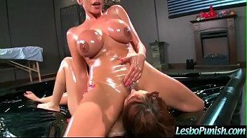(adessa&amp_ariella) Lesbians In Hard Punish Sex Scene Using Toys movie-11
