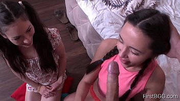 Very young sluts who pay blowjob on the older man's cock