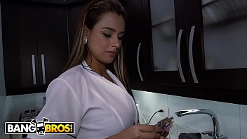 Bangbros - Colombian Maid Sofia Cleaning My Apartment In Medellin