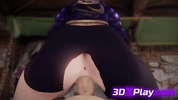 League of Legends - Akali Porn Fucked Big Cock Hentai 2019