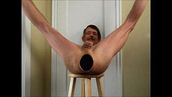 Ass stretching...