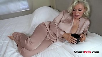 Video porn new Blonde Lonely Mom Fucks Son Casca Akashova high quality