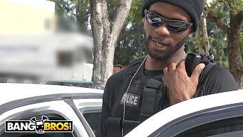 Bangbros - Big Black Dick Wieldin' Cops Fuck The Mayor's White Daughter, Kiki Parker