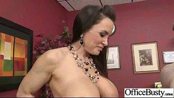 Big Tits Girl (lisa ann) Get Hardcore Sex In Office mov-22