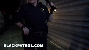 Black Patrol - Milf Police Officers With Big Tits Fuck A Rapper