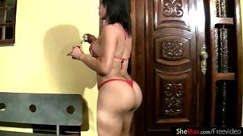 FULL movie of Perfect Latina tranny ass and boobs in bikini