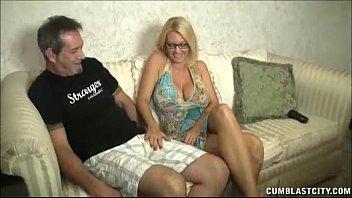 thumb Huge Titted Milf Enjoys Jerking Cocks