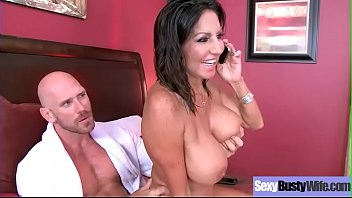 Big Round Boobs Wife (Tara Holiday) Banged Hard Style In Sex Tape vid-27