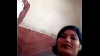 village aunty with pujari