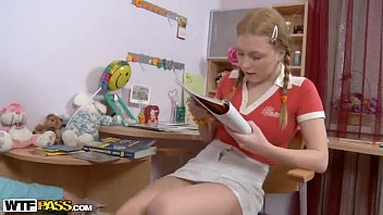 thumb Pigtailed Blonde Girl Fuck By Teacher