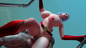 3D Busty Succub Girl Ruined by Giant Monster