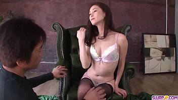 Video porn Mei Naomi goes full mode on two juicy cocks More at Slurpjp period com