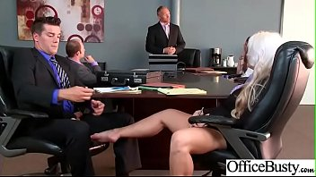 Slut Horny Girl (Holly Heart) With Big Melon Tits Enjoy Sex In Office video-16