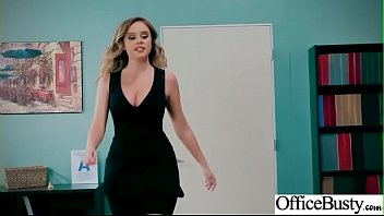 Slut Sexy Girl (Alexis Adams) With Big Round Boobs In Sex Act In Office video-01