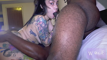 mixed puerto rican brooklyn love getting fucked by 2 bbcs