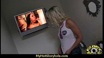 Nice and hot interracial blowjob video 25
