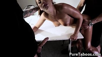 Good cop horny cop interrogation turns nasty