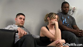 xxarxx زوجة بيضاء المتأنق السوداء