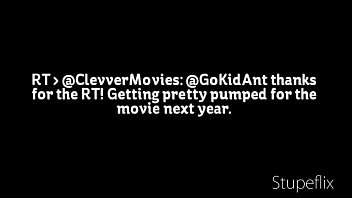 Actor Eric &quot_Gokid Ant&quot_ Gilbert Jr Shows Clevver Movies &quot_Man Of Steel&quot_ Movie Set