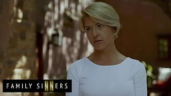 Hot Blonde Milf  (kit Mercer) Blows Fucks Her  lows Fucks Her Step Son Van Wylde   Family Sinners