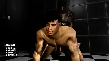 Lustful gay couple do penetration fuck until they...