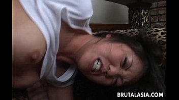 Busty Asian Bim bo Gets Ass Fucked By The Stud ked By The Stud