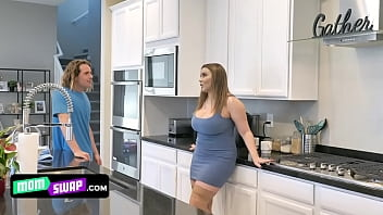 Sex In The Kitchen With A Busty Pussy